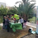 Actúa SM imparte un taller de semillas y plantación a los escolares del CEIP Gasparot de Villajoyosa