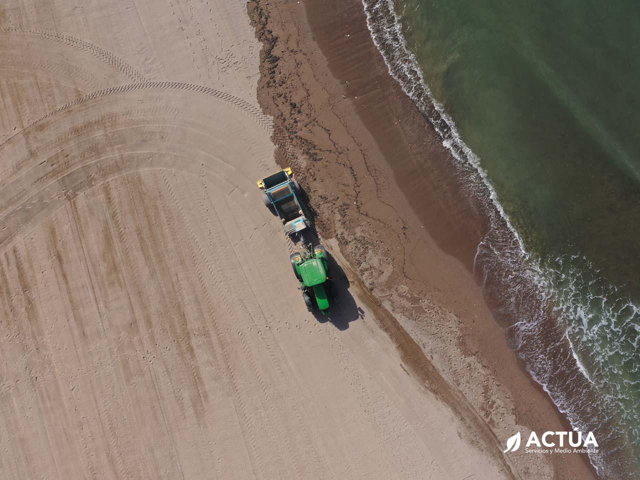 Limpieza y Mantenimiento de Playas