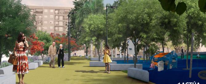 Actúa ejecutará los espacios verdes del nuevo jardín de Benicalap