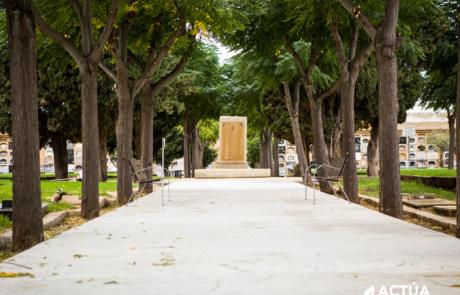 Actúa participa junto al estudio Arkítera en la 'dignificación de las fosas' del Cementerio General de Valencia